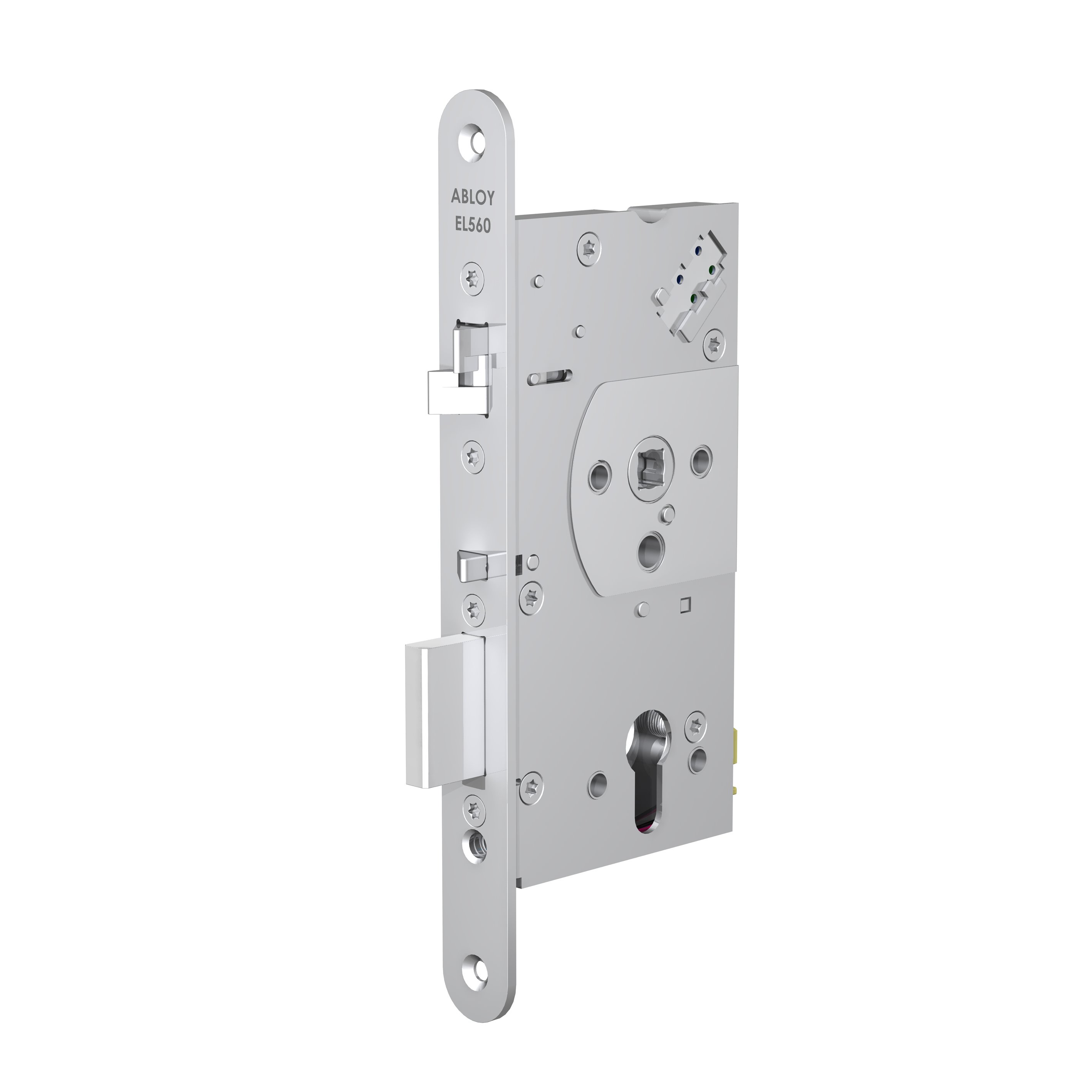 EL560 handle controlled lock case for solid doors
