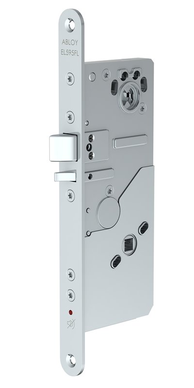 EL595 FL - High security motor lock case with mechanical exit feature