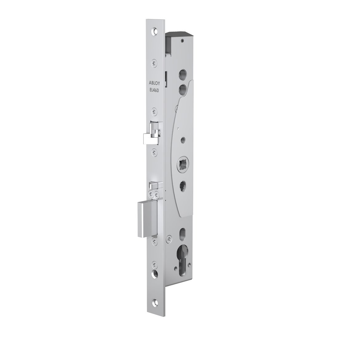 EL461 handle controlled lock case for narrow profile doors