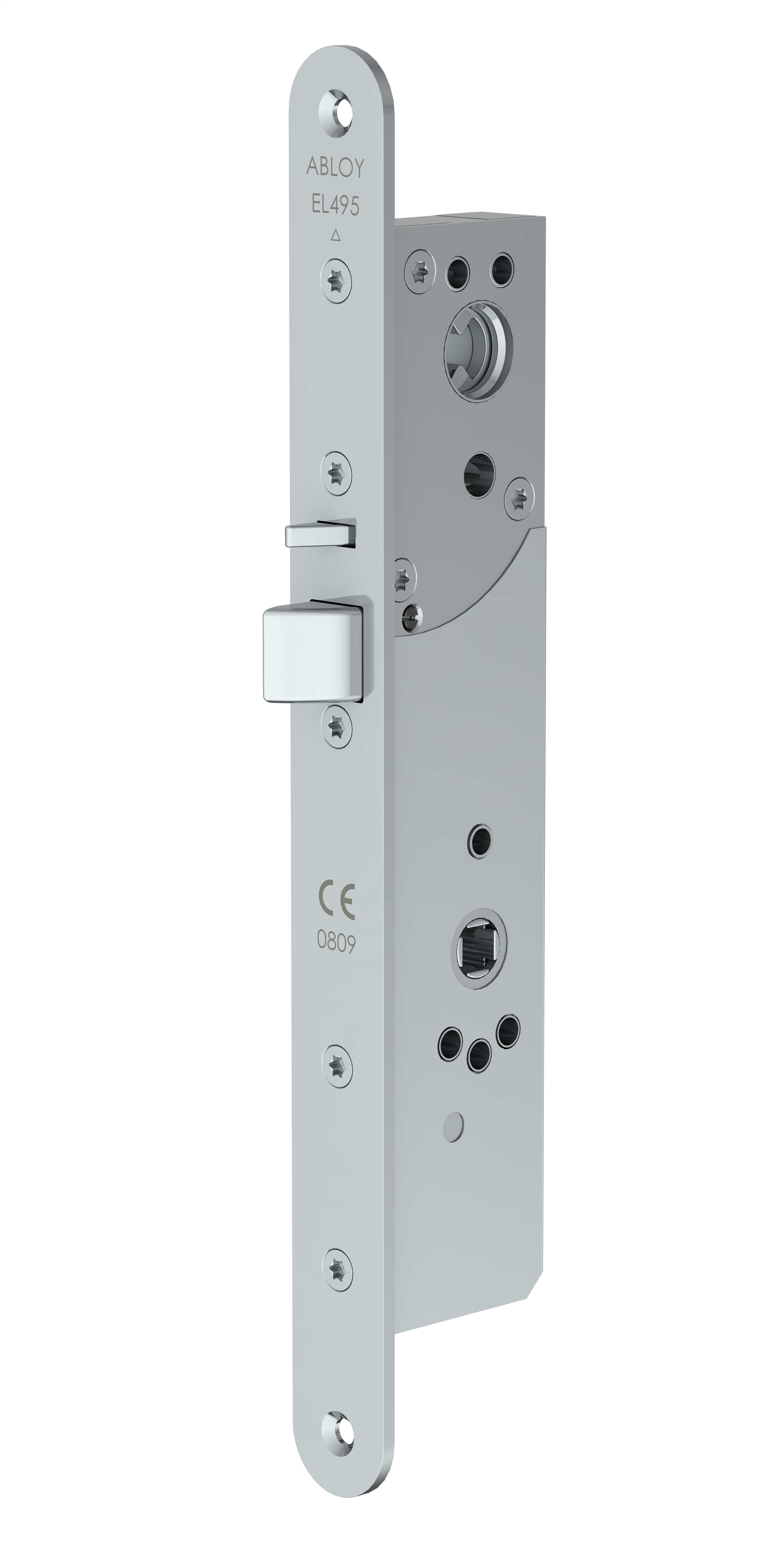 El495 high security motor lock case with mechanical exit for Case in stile
